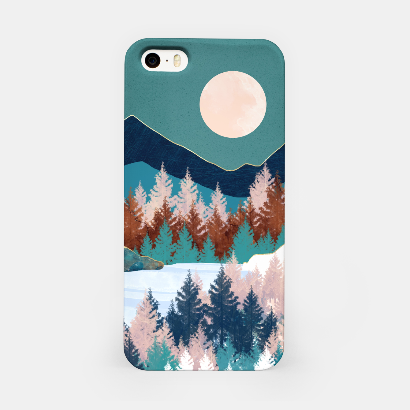 Image of Summer Trees iPhone Case - Live Heroes