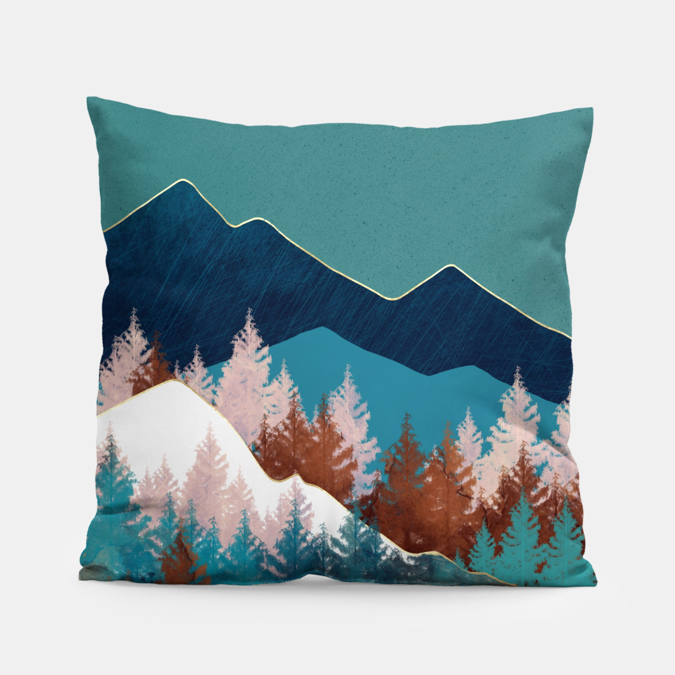 Image of Summer Trees Pillow - Live Heroes