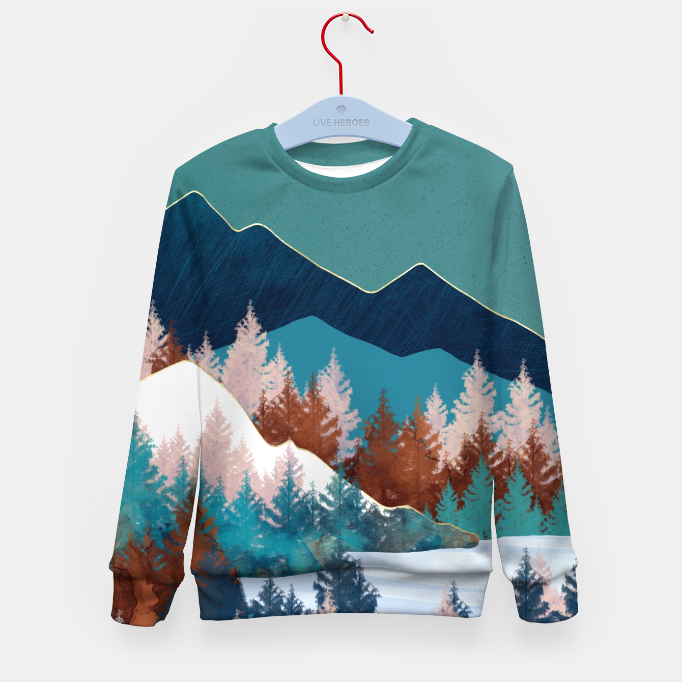 Image of Summer Trees Kid's sweater - Live Heroes
