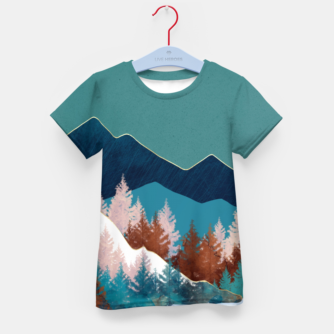 Image of Summer Trees Kid's t-shirt - Live Heroes