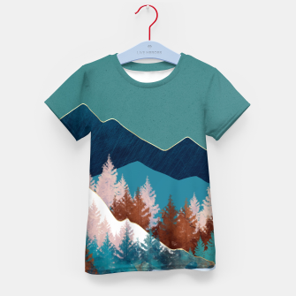 Thumbnail image of Summer Trees Kid's t-shirt, Live Heroes
