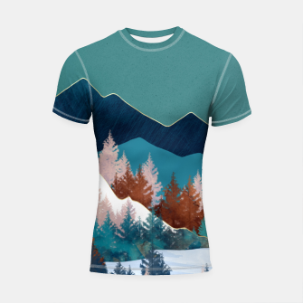 Thumbnail image of Summer Trees Shortsleeve rashguard, Live Heroes