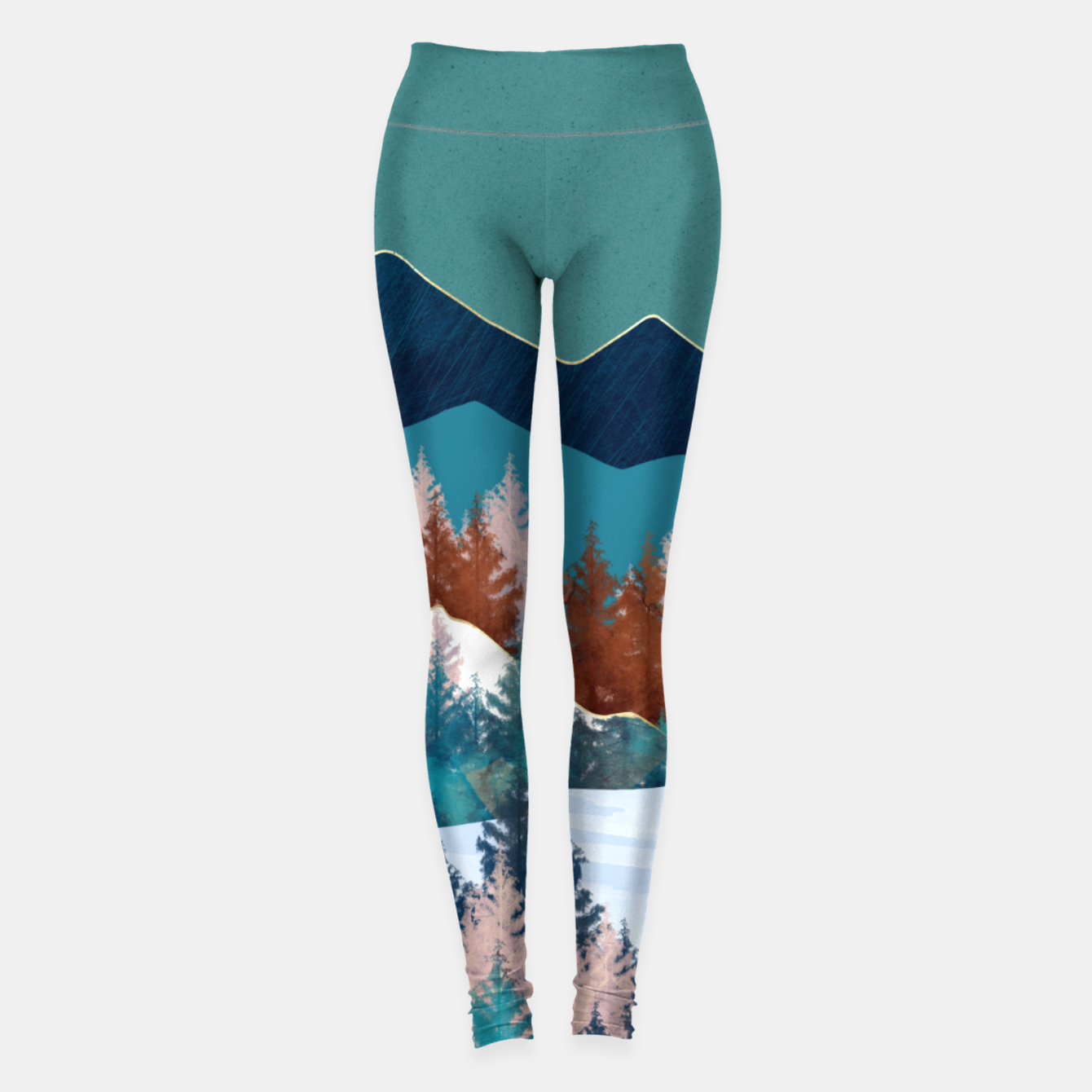 Image of Summer Trees Leggings - Live Heroes