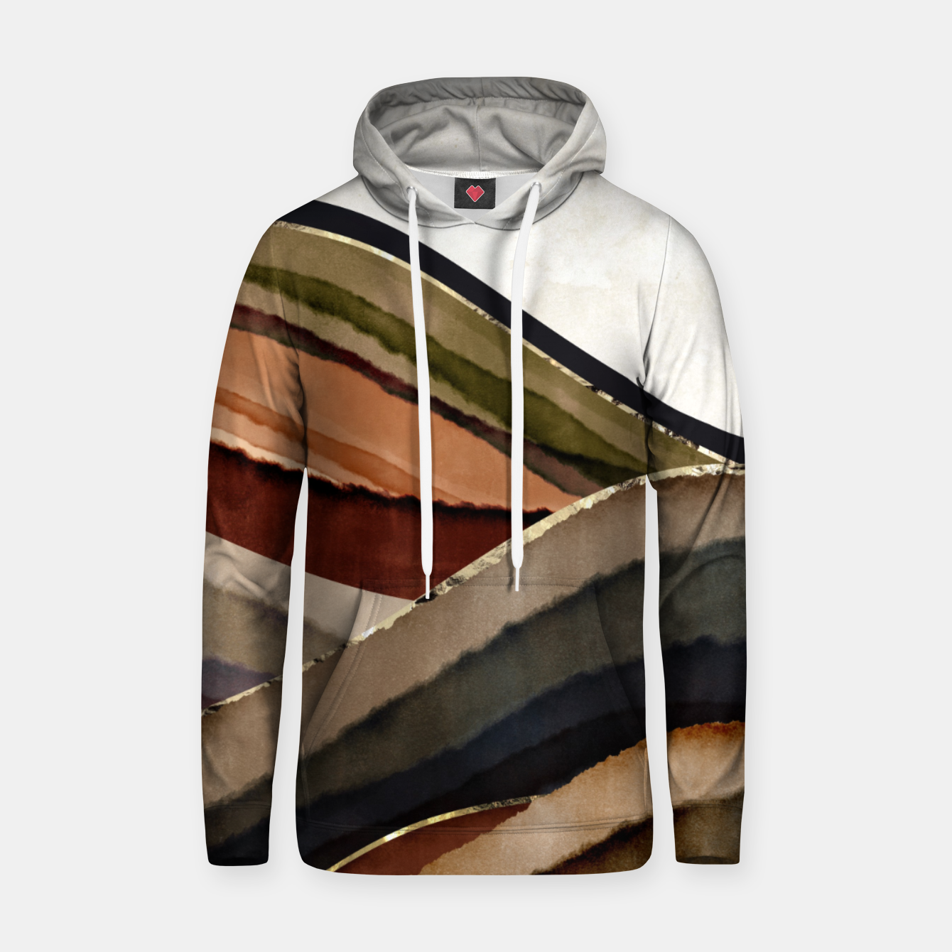 Image of Fall Abstract I Hoodie - Live Heroes