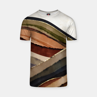 Thumbnail image of Fall Abstract I T-shirt, Live Heroes