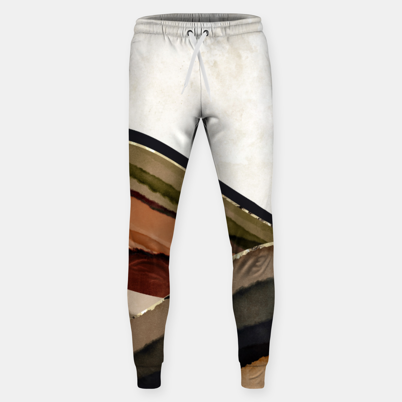Image of Fall Abstract I Sweatpants - Live Heroes