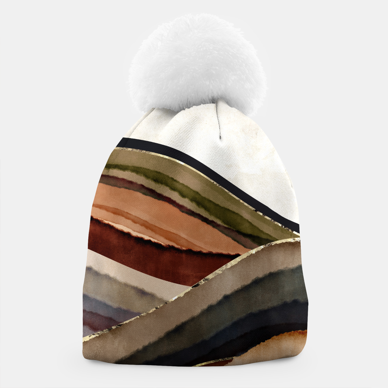 Image of Fall Abstract I Beanie - Live Heroes