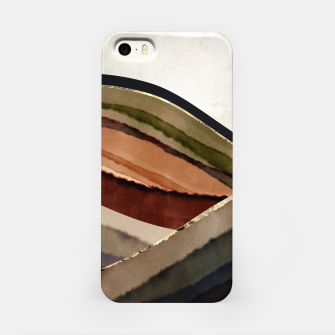 Fall Abstract I iPhone Case thumbnail image