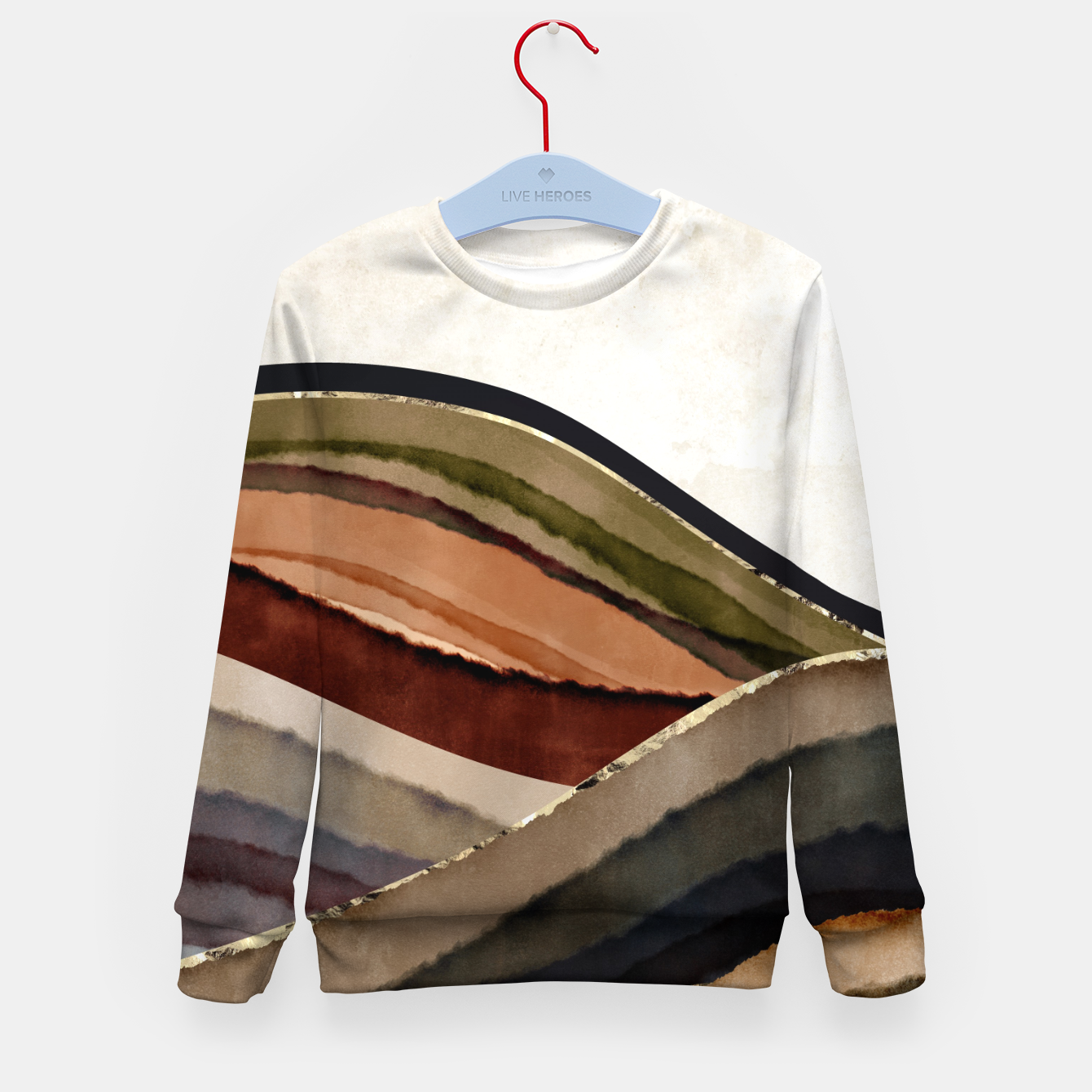 Image of Fall Abstract I Kid's sweater - Live Heroes