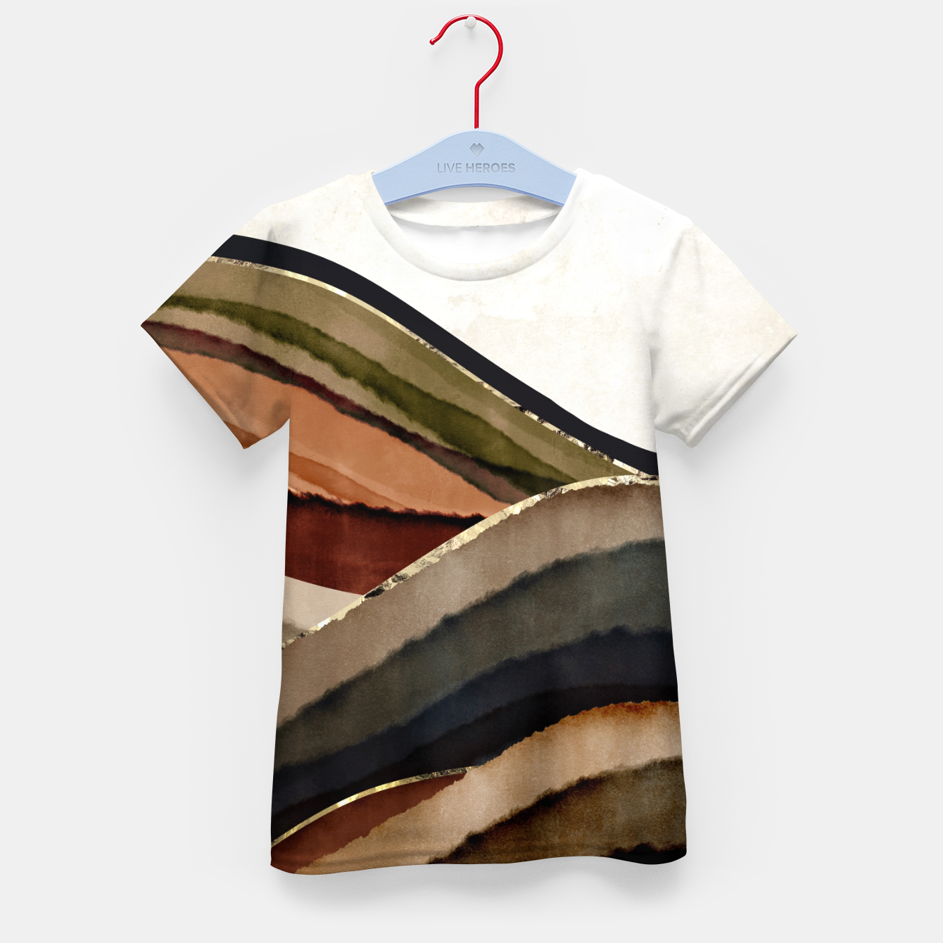 Image of Fall Abstract I Kid's t-shirt - Live Heroes