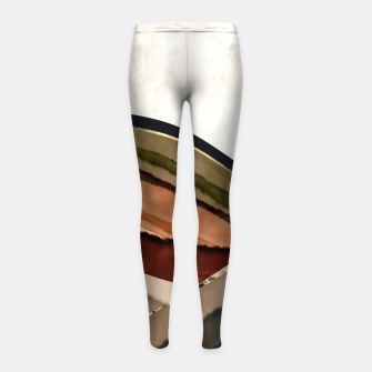 Thumbnail image of Fall Abstract I Girl's leggings, Live Heroes