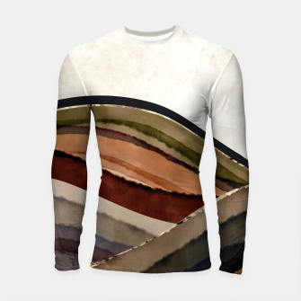 Thumbnail image of Fall Abstract I Longsleeve rashguard , Live Heroes