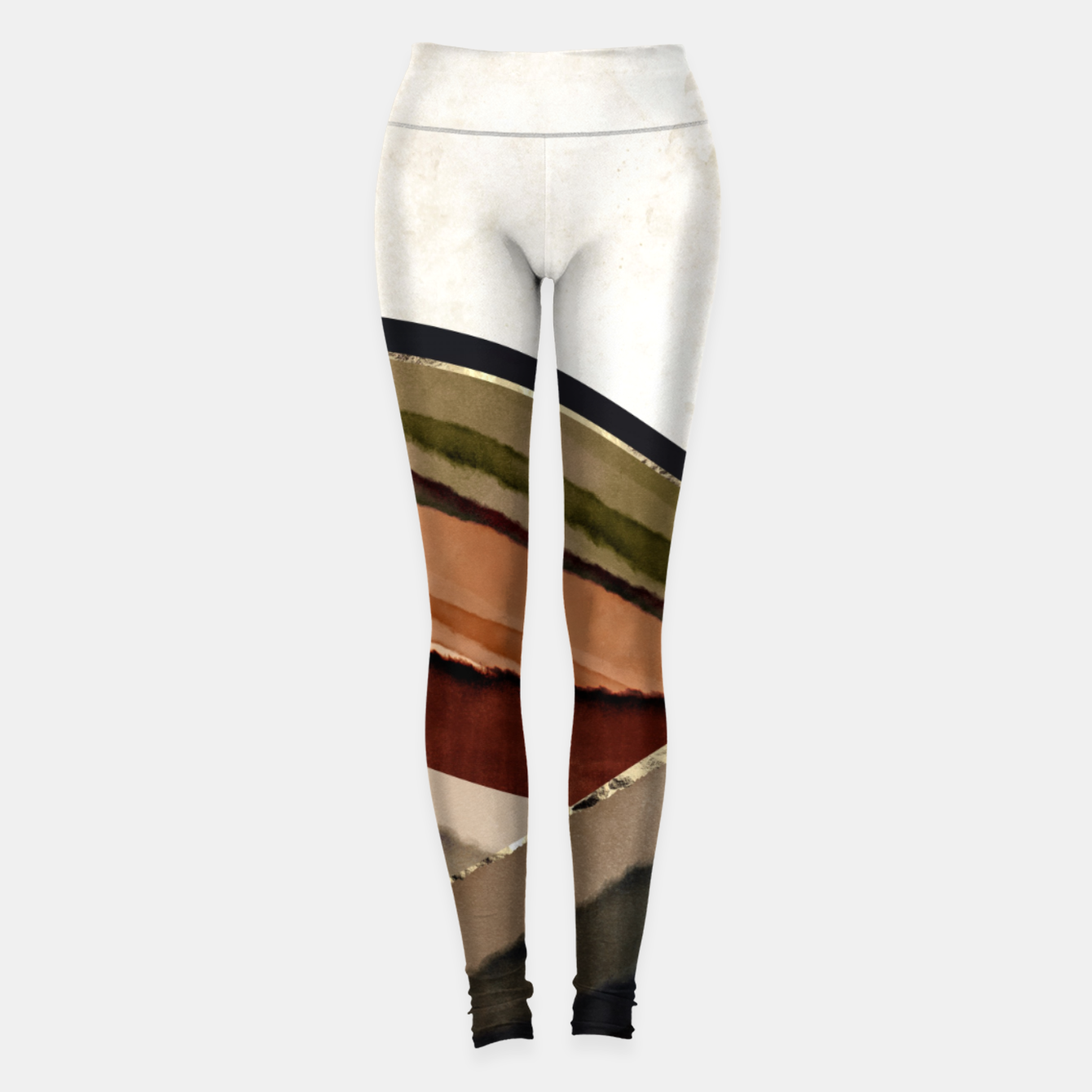Image of Fall Abstract I Leggings - Live Heroes