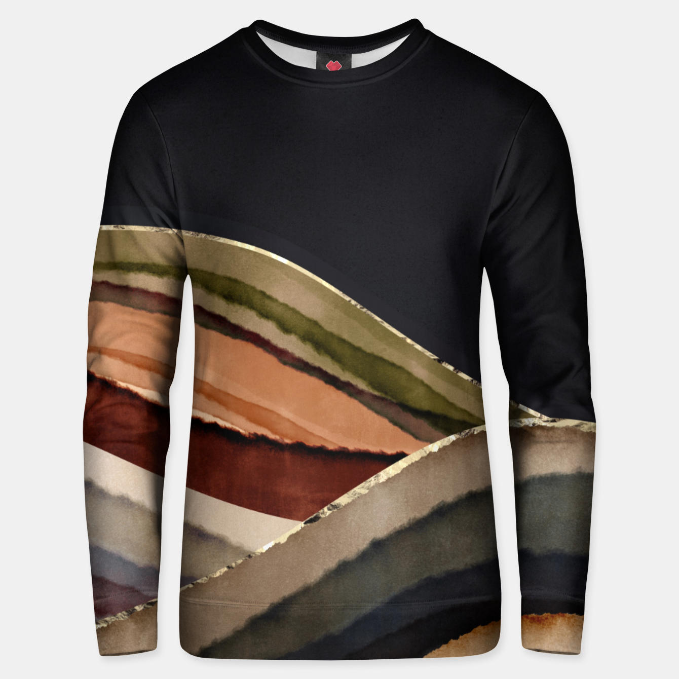 Image of Fall Abstract II Unisex sweater - Live Heroes