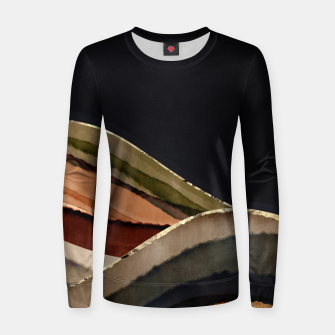 Thumbnail image of Fall Abstract II Women sweater, Live Heroes