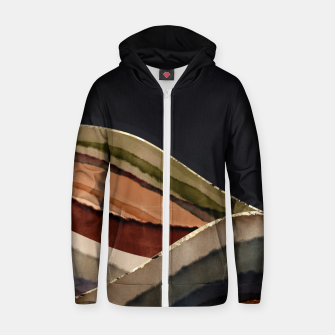 Thumbnail image of Fall Abstract II Zip up hoodie, Live Heroes