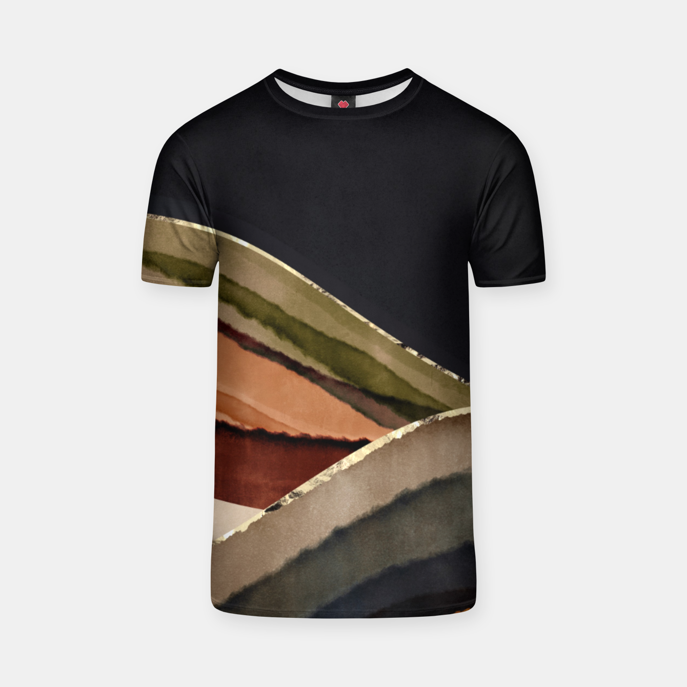 Image of Fall Abstract II T-shirt - Live Heroes