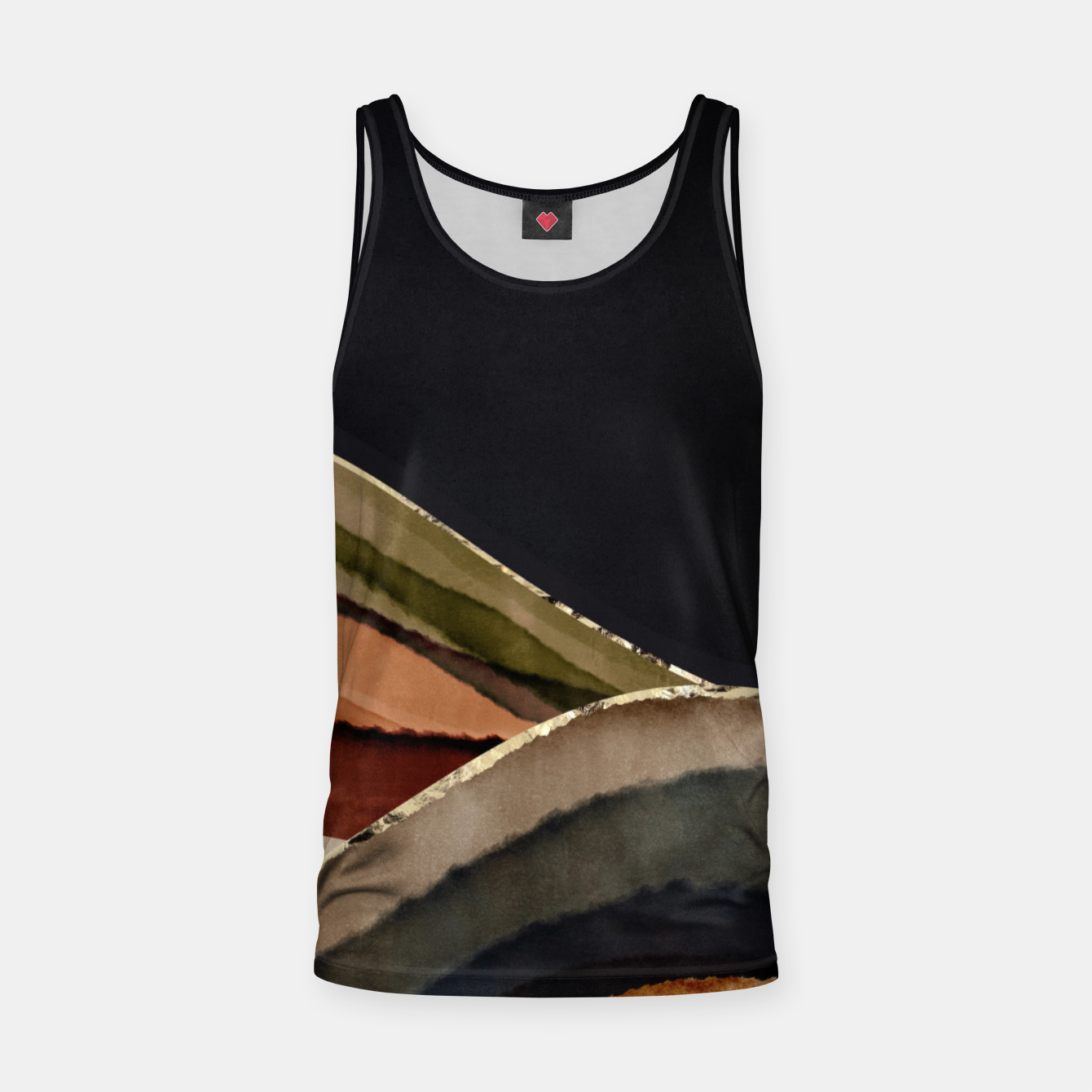 Image of Fall Abstract II Tank Top - Live Heroes
