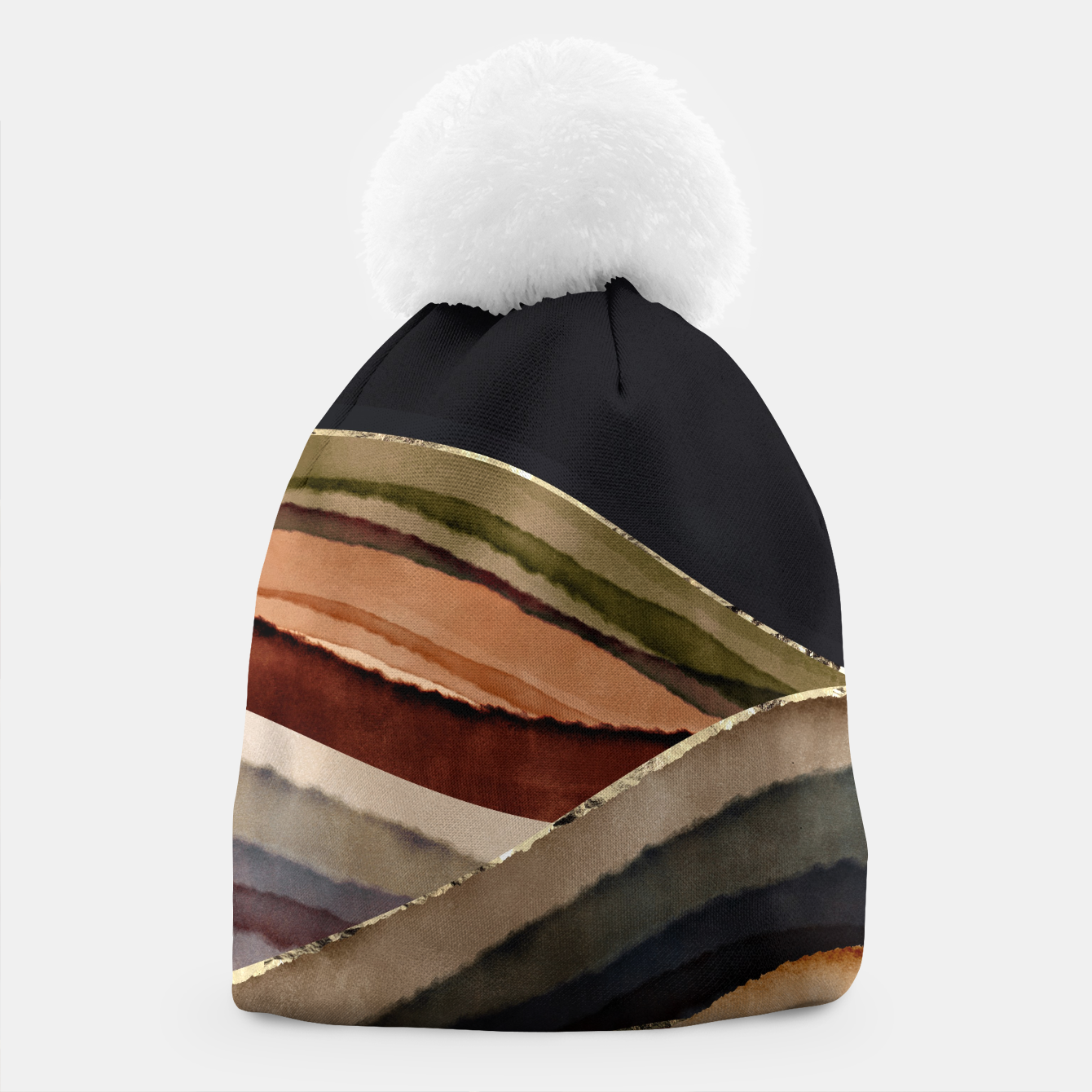 Image of Fall Abstract II Beanie - Live Heroes