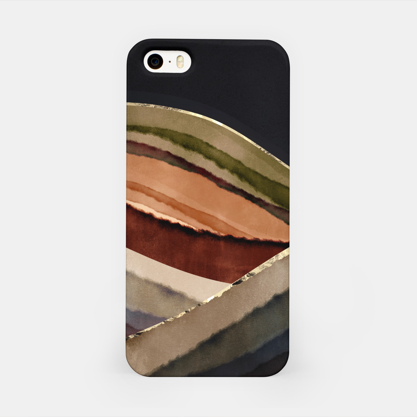 Image of Fall Abstract II iPhone Case - Live Heroes