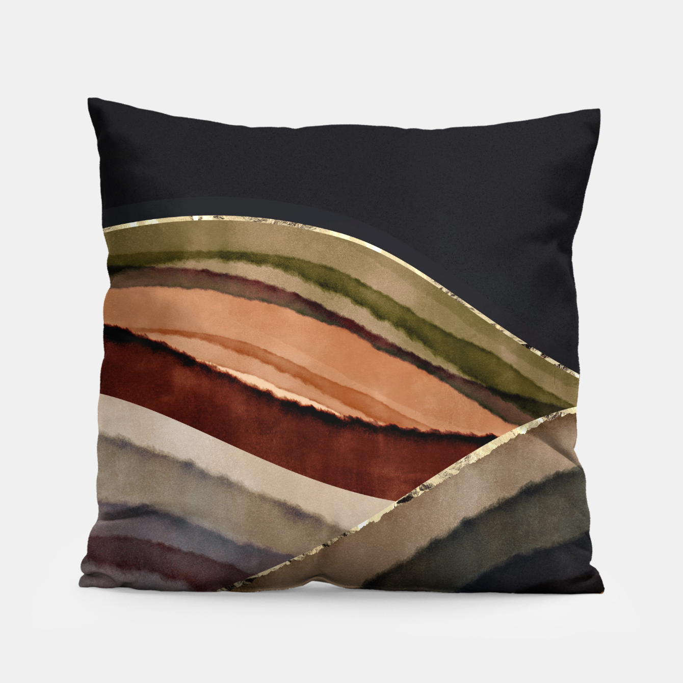 Image of Fall Abstract II Pillow - Live Heroes