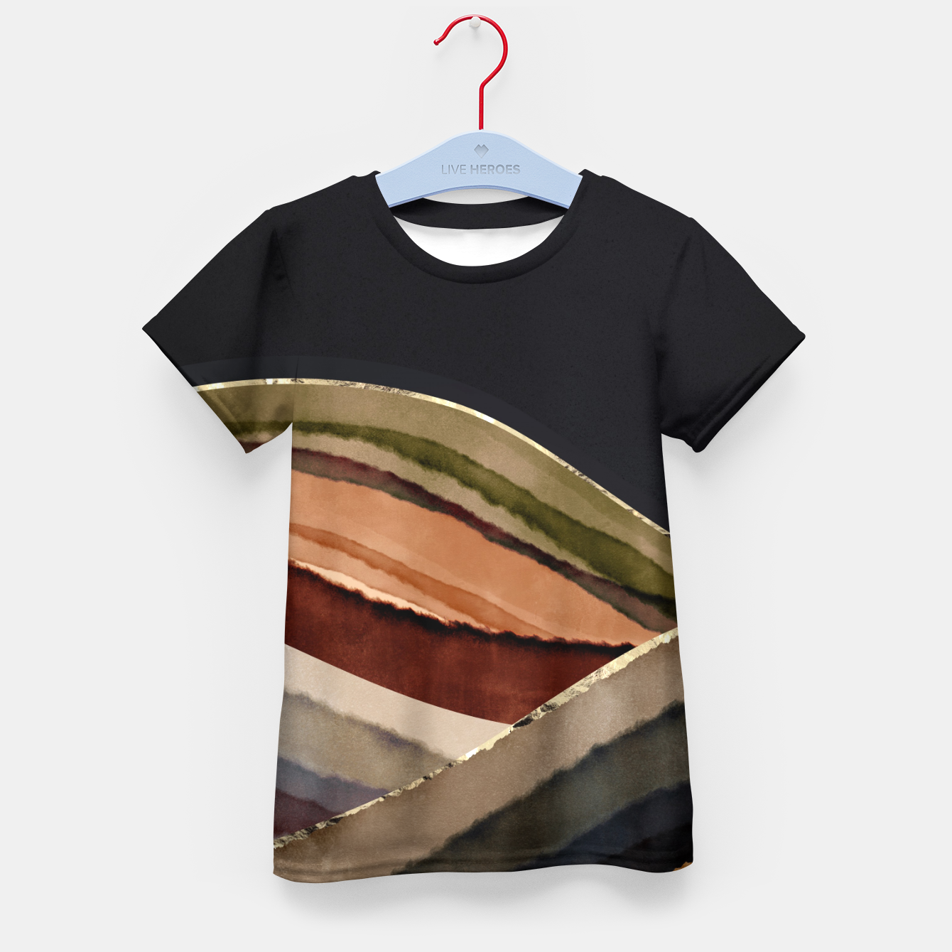 Image of Fall Abstract II Kid's t-shirt - Live Heroes