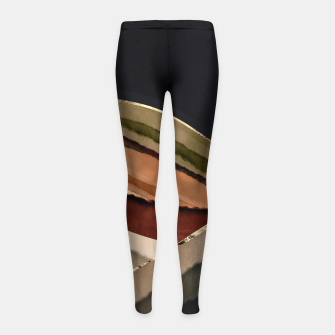 Thumbnail image of Fall Abstract II Girl's leggings, Live Heroes