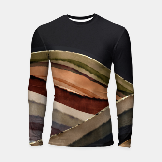 Thumbnail image of Fall Abstract II Longsleeve rashguard , Live Heroes