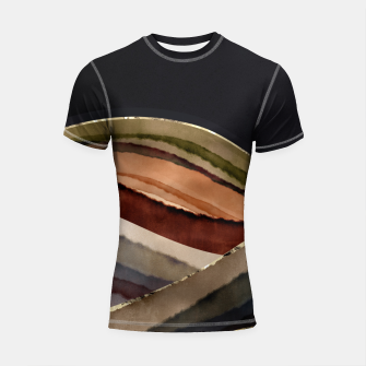 Thumbnail image of Fall Abstract II Shortsleeve rashguard, Live Heroes