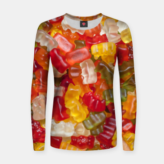 Thumbnail image of gummy Bear Women sweater, Live Heroes