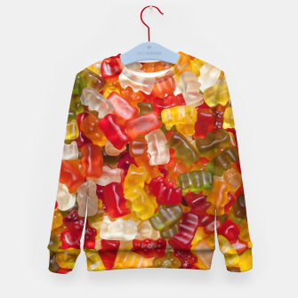Thumbnail image of gummy Bear Kid's sweater, Live Heroes