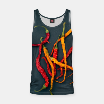 Thumbnail image of Chilling the chilli Tank Top, Live Heroes