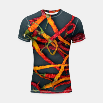 Thumbnail image of Chilling the chilli Shortsleeve rashguard, Live Heroes