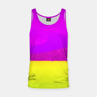 Miniatur Hikers in the Distance - Vibrant Variant Tank Top, Live Heroes