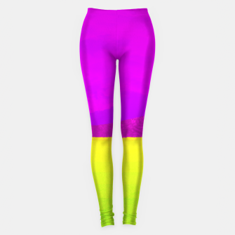 Miniatur Hikers in the Distance - Vibrant Variant Leggings, Live Heroes