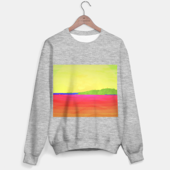 Miniatur Hikers in the Distance - Sunrise Variant Sweater regular, Live Heroes
