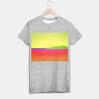 Miniatur Hikers in the Distance - Sunrise Variant T-shirt regular, Live Heroes