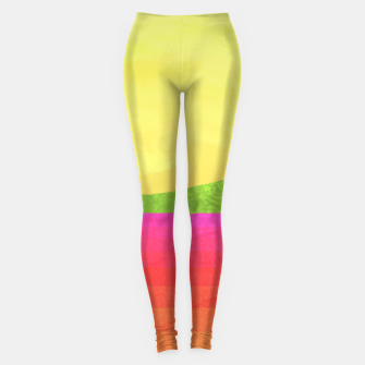 Miniatur Hikers in the Distance - Sunrise Variant Leggings, Live Heroes