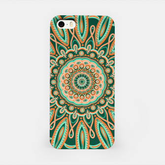 Thumbnail image of Boho-chic Mandala - AQUA - GREEN - TERRA iPhone Case, Live Heroes