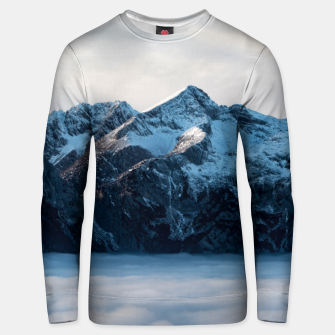 Miniatur A sleeping giant Unisex sweater, Live Heroes