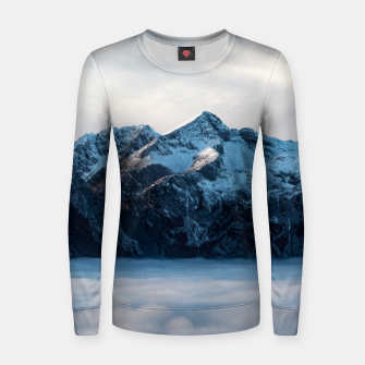 Thumbnail image of A sleeping giant Women sweater, Live Heroes