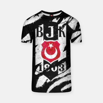 Thumbnail image of Besiktas 1903 BJK Turkey Football Club Fans T-shirt, Live Heroes