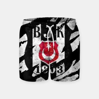 Thumbnail image of Besiktas 1903 BJK Turkey Football Club Fans Swim Shorts, Live Heroes