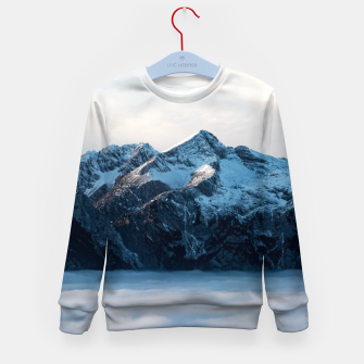 Thumbnail image of A sleeping giant Kid's sweater, Live Heroes