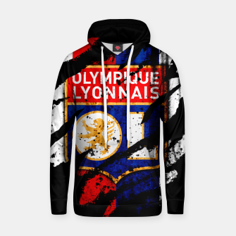 Thumbnail image of Olympique Lyonnais France Football Club Lyon Fans Hoodie, Live Heroes