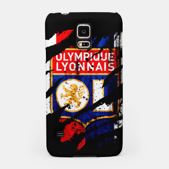 Thumbnail image of Olympique Lyonnais France Football Club Lyon Fans Samsung Case, Live Heroes