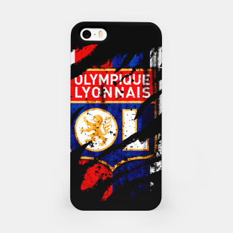 Thumbnail image of Olympique Lyonnais France Football Club Lyon Fans iPhone Case, Live Heroes