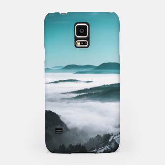 Thumbnail image of Layers of hills, fog and trees Samsung Case, Live Heroes