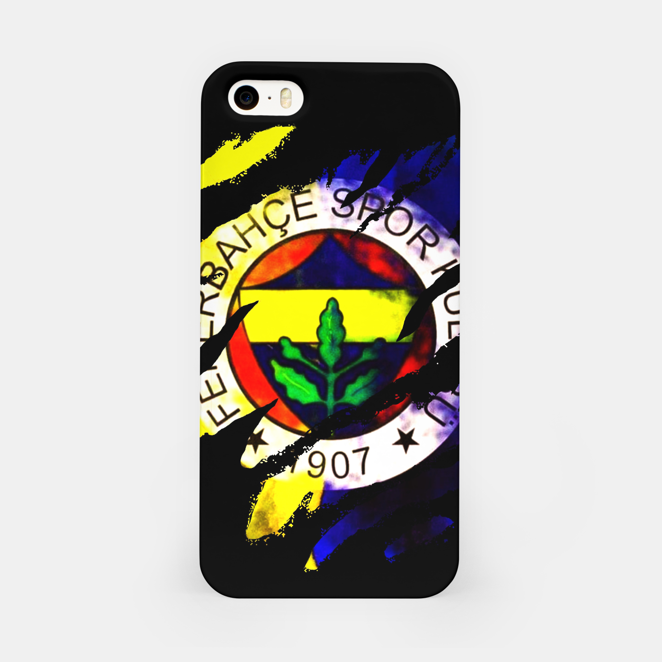 Image of Fenerbahce 1907 Turkey Football Club Fans iPhone Case - Live Heroes