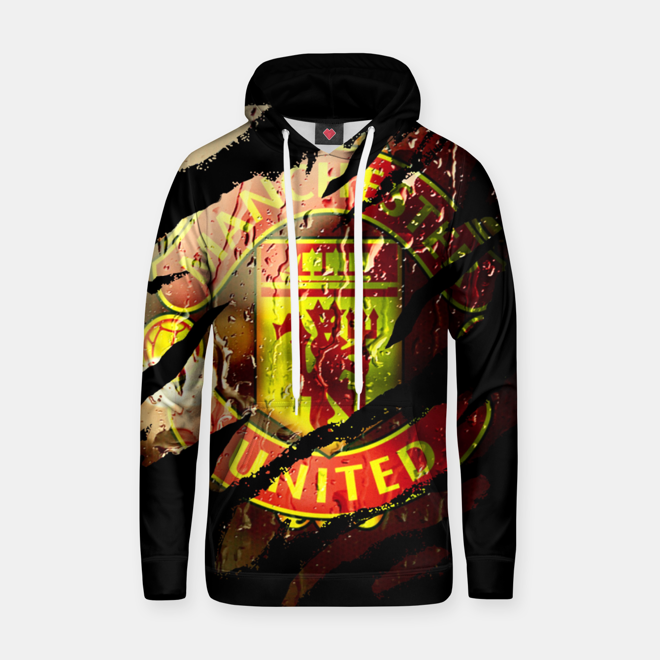 Image of Manchester United Football Club Fans  Hoodie - Live Heroes